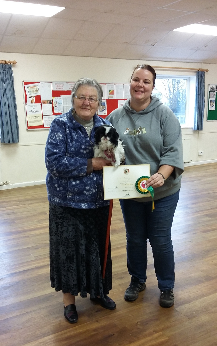 Obedience Winner at CDCS