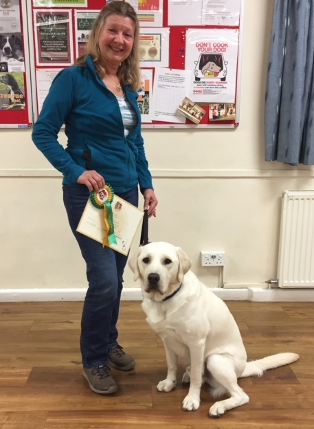 Good Citizen Gold Award won by Guide Dog Quince